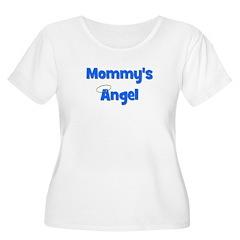 Mommy's Angel - Blue T-Shirt