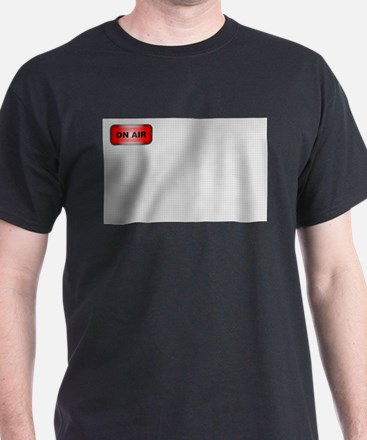 Live on Air Background T-Shirt