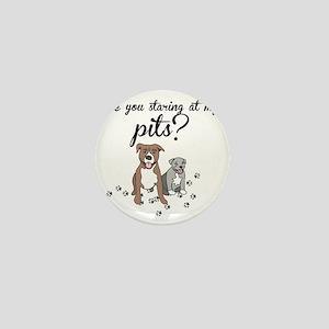 Staring Pits Mini Button