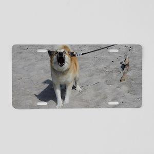 Icelandic Sheepdog 042 Aluminum License Plate
