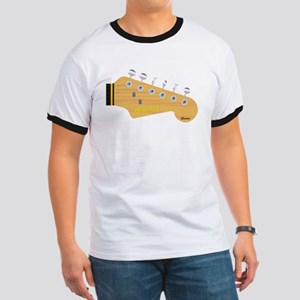Isolated Guitar Headstock T-Shirt