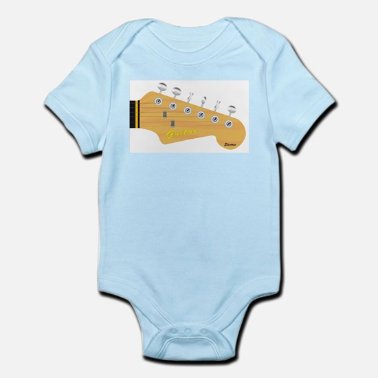 Isolated Guitar Headstock Body Suit