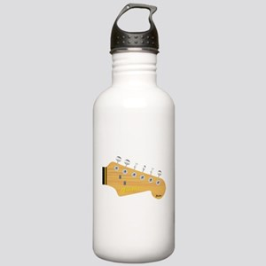 Isolated Guitar Headst Stainless Water Bottle 1.0L