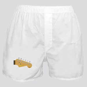 Isolated Guitar Headstock Boxer Shorts