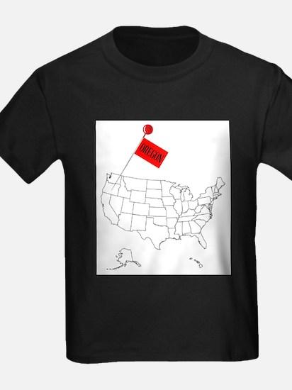 Knob Pin Oregon T-Shirt