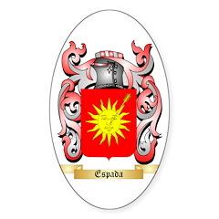 Espada Sticker (Oval 10 pk)