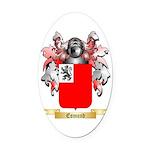 Esmond Oval Car Magnet