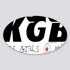 KGB Oval Sticker