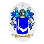 Escudier Ornament (Oval)