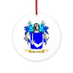 Escudier Ornament (Round)