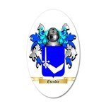 Escudie 20x12 Oval Wall Decal