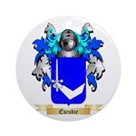 Escudie Ornament (Round)