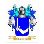 Escudero Small Poster