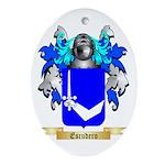Escudero Ornament (Oval)