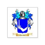 Escuder Square Sticker 3