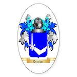 Escuder Sticker (Oval 10 pk)