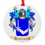 Escude Round Ornament