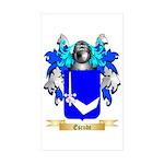 Escude Sticker (Rectangle 50 pk)