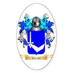 Escude Sticker (Oval 10 pk)
