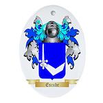 Escude Ornament (Oval)