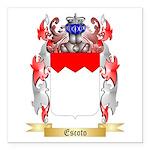Escoto Square Car Magnet 3