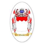 Escoto Sticker (Oval 50 pk)