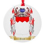 Escot Round Ornament