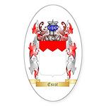 Escot Sticker (Oval 50 pk)