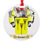 Escobar Round Ornament