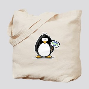 World's Greatest Dad Penguin Tote Bag