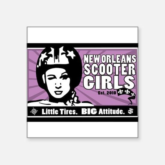 NOSG Helmet Girl Sticker