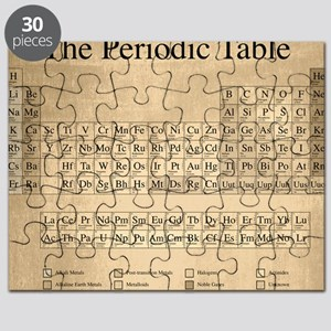 Periodic table puzzles cafepress periodic table puzzle urtaz Image collections