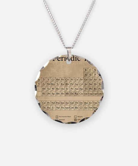 Chemistry science teacher periodic table elements jewelry periodic table necklace urtaz Images