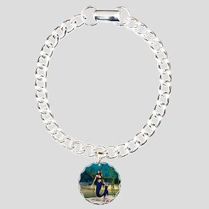 Mermaid Charm Bracelet, One Charm