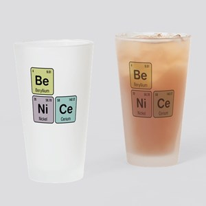 Be Nice - Be Ni Ce Drinking Glass