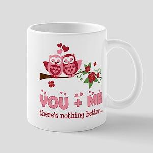 Valentine Couple Owl You And Me Mug