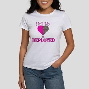 Half mt heart is deployed Women's T-Shirt