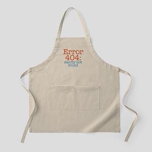 Error 404 Sanity Apron