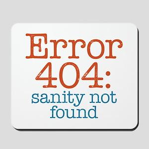 Error 404 Sanity Mousepad