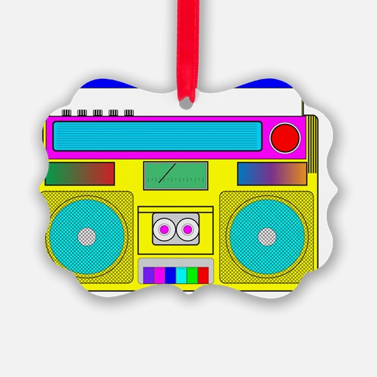 neon radio Ornament