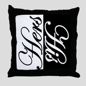 MarkYourSpot Throw Pillow