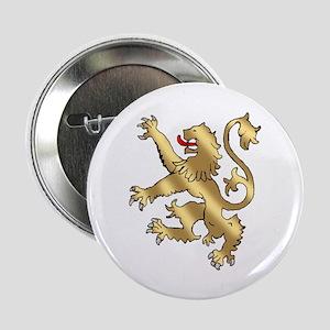 """English Lion Rampant 2.25"""" Button"""