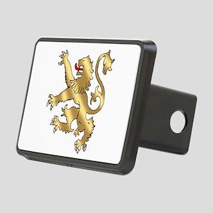 English Lion Rampant Rectangular Hitch Cover