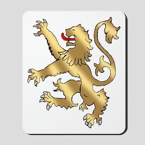 English Lion Rampant Mousepad