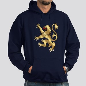 English Lion Rampant Hoodie (dark)