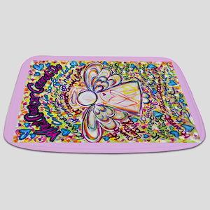 Spring Heart Cancer Angel Bathmat