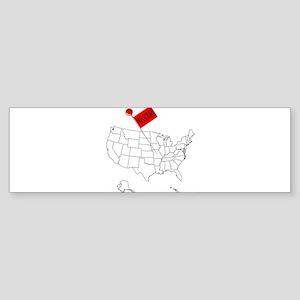 Knob Pin Missouri Bumper Sticker