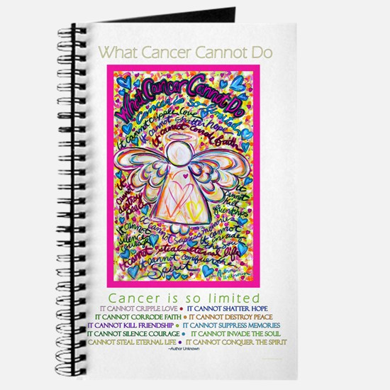 Spring Heart Cancer Angel Journal