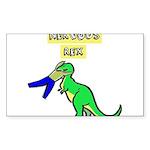 NERVOUS REX Sticker