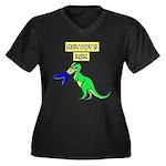 NERVOUS REX Plus Size T-Shirt